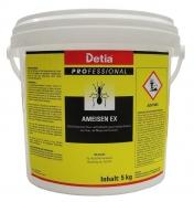 Detia Ameisen Ex Streu und Gießmittel Ameisenmittel Ameisengift Ameisenköder Ameisen 5 Kg