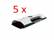 5 x Silberfischchen-Falle Papierfischchen-Falle Silvercheck mit Lockstoff