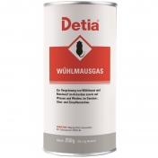 Detia Wühlmausgas 250 g Maulwurf Wühlmaus Vergrämungsmittel Abwehr