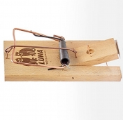 Luna Schlagfalle Ratte Rattenfalle Holz